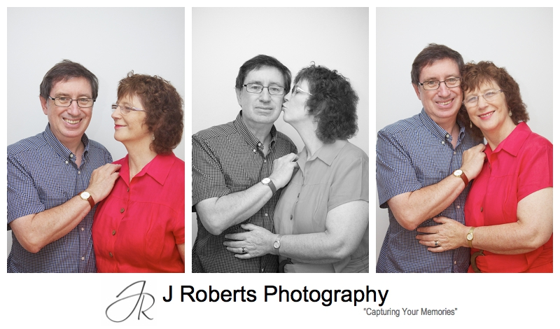 Grandparents in a couples portrait - sydney multi generation family portrait photography